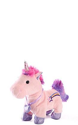 Cuddle Barn Starry Sparkle Singing & Galloping Unicorn