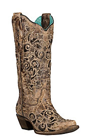 a968de316458 Tooled   Inlay Boots · Women s Exotic Boots
