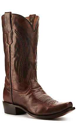 Corral Men's Honey Brown Punchy Square Toe Western Boot