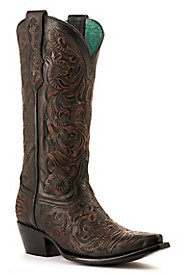 Women's Tooled & Inlay Boots
