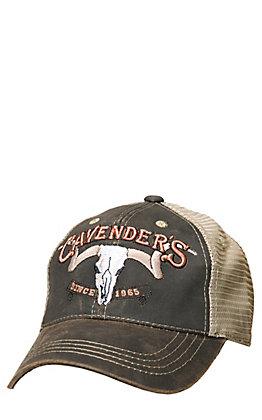 Cavender's 3D Logo & Skull Cap