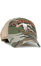 Cavenders Camouflage Mesh Back Cap