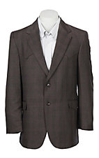 Circle S Plano Sable Plaid Sportcoat - Big & Tall