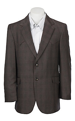 Circle S Plano Sable Plaid Sportcoat