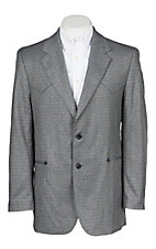 Circle S Carson City Grey Multi Sportcoat - Big & Tall