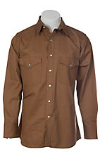 Cowboy Workwear Camel Snap Western Workshirt