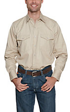 Cowboy Workwear  Stone Long Sleeve Work Shirt