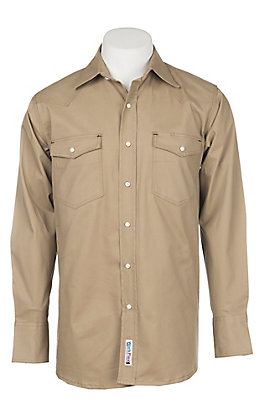 Cowboy Workwear Carmel Long Sleeve Work Shirt
