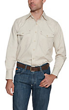 Cowboy Workwear Sand L/S Work Shirt