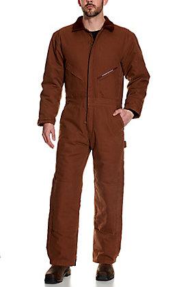 Forge Workwear Men's Brown Coveralls