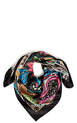 Wyoming Traders Dazzle Charmeuse Silk Scarf