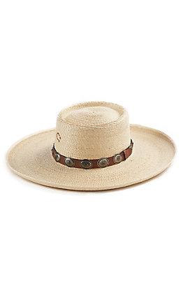 Charlie 1 Horse Women's High Desert Round Top Palm Fashion Hat