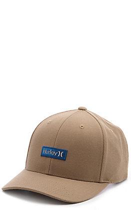 Hurley One & Only Khaki Boxed Beachtree Logo Snapback Cap