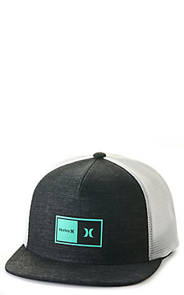 Hurley Natural 2.0 Dark Smoke Grey Trucker Cap