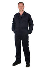 Bulwark  EXCEL FR ComforTouch Navy Deluxe Coverall