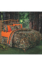 HiEnd Accents Oak Camo Bedding Set - Queen