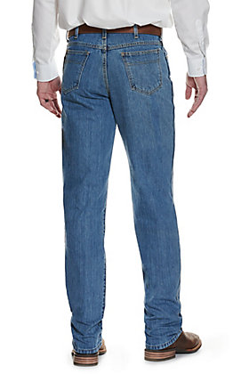 Cinch Men's Green Label Medium Stonewash Relaxed Fit Tapered Leg Jean