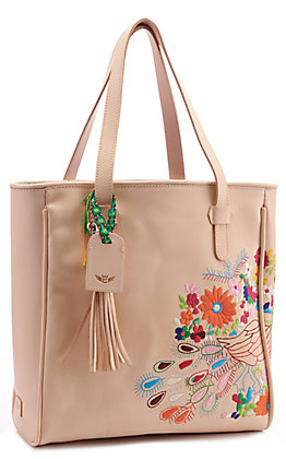 Consuela Sunny Gold Floral Classic Tote