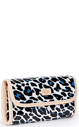 Consuela Lola Leopard Print Go-To Clutch Wallet