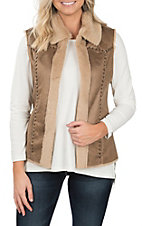 Cripple Creek Women's Faux Shearling Vest