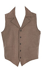 Cripple Creek Men's Heather Oatmeal Wool Vest