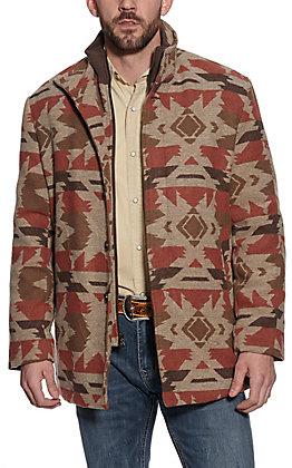 Cripple Creek Men's Navajo Blanket Jacket