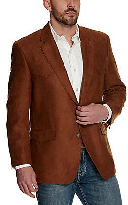 Harmony Western Wear Rust Microfiber Jacket- Big & Tall Sizes