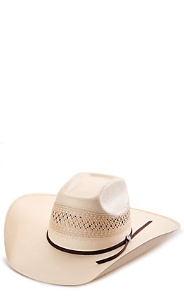 Rafter C ProFlex45 Two-Toned Shantung Vented Straw Hat