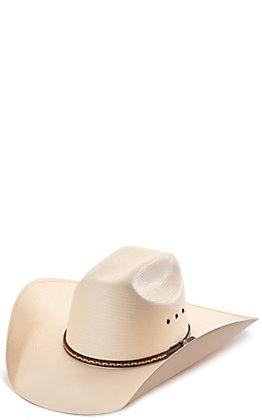 Rafter C ProFlex45 Ivory Shantung Cattleman Straw Hat