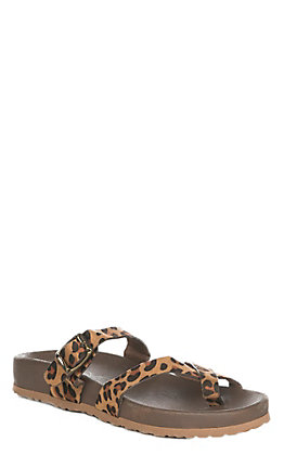 Corky's Heavenly Women's Leopard Criss Cross Sandal