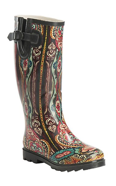 Shop Cowgirl Rain Boots - Cowboy Rain Boots for Women   Cavender's