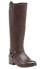 Corky's Women's Cherokee Brown w/Gore Harness Tall Riding Boots