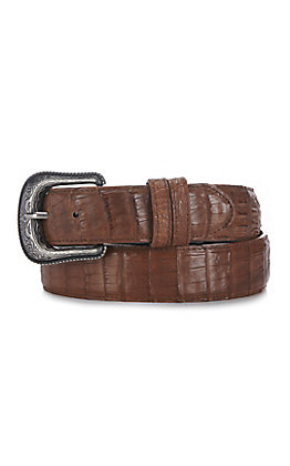 Cavender's Men's Albany Tan Caiman Belly Belt