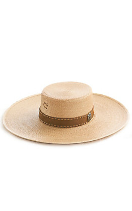Charlie 1 Horse Vaquera Round Top Palm Hat