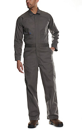 Lapco FR Grey 7 oz. Coveralls