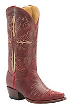 Cavender's by Old Gringo Women's Kilauea Red Snip Toe Western Boots
