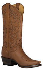 Cavender's by Old Gringo Women's Tan Crazy Goat Snip Toe Western Boots
