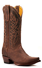 Cavender's by Old Gringo Women's Burnished Tan Western Snip Toe Boots