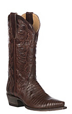 Cavender's by Old Gringo Women's Chocolate Lizard Triad Snip Toe Western Boot