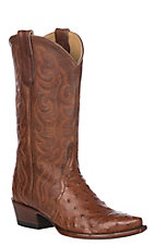 Cavender's by Old Gringo Women's Brandy Full Quill Ostrich Snip Toe Western Boot