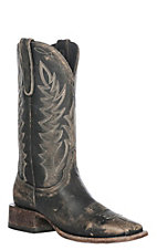 Cavender's by Old Gringo Women's Rustic Beige Stonewash Square Toe Western Boot