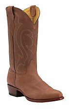 Cavender's by Old Gringo Men's Wild Tan Goat Traditional Toe Western Boots