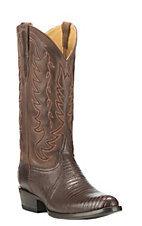 Cavender's by Old Gringo Brown Lizard Exotic Round Toe Boots