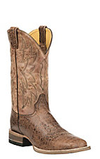 Cavender's by Old Gringo Men's Cognac with Tan Upper Western Square Toe Boots