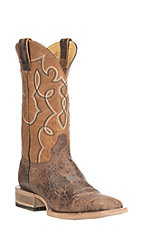 Cavender's by Old Gringo Men's Brown with Caramel Upper Western Square Toe Boots