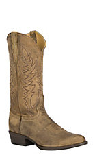 Cavender's by Old Gringo Men's Honey Distressed Western Round Toe Boots