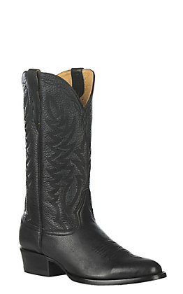 Cavender's by Old Gringo Men's Black Western Round Toe Boots