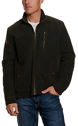 Cripple Creek Men's Chocolate Enzyme Wash Concealed Carry Jacket