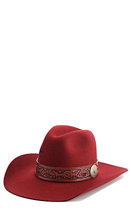 Charlie 1 Horse Women's Burgundy Chief Western Fashion Hat