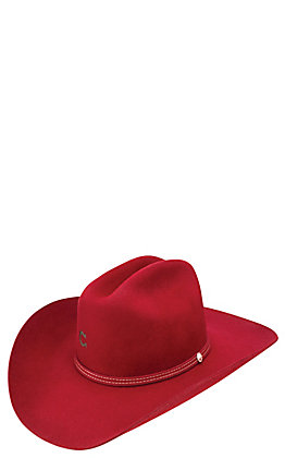 Charlie 1 Horse Red Dime Store Cowgirl Hat